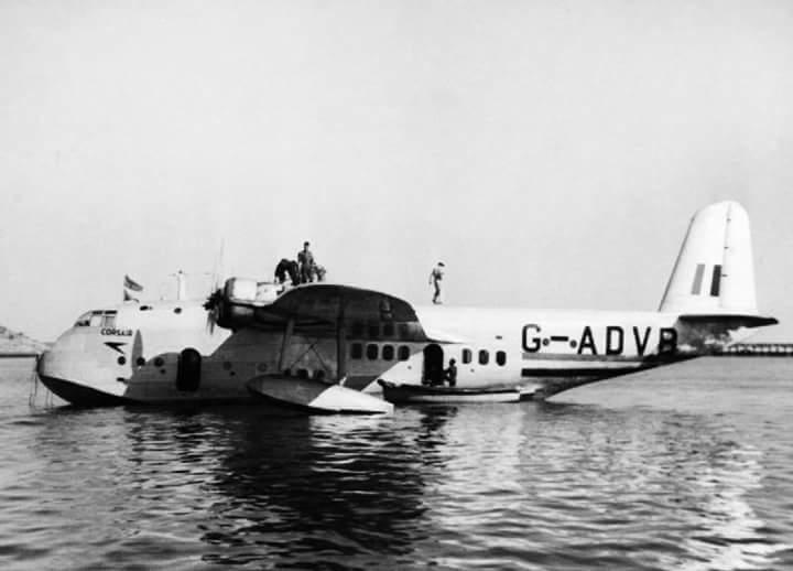 ब्रिटिश राज में इम्पीरियल एयरलाइन्स के जहाज